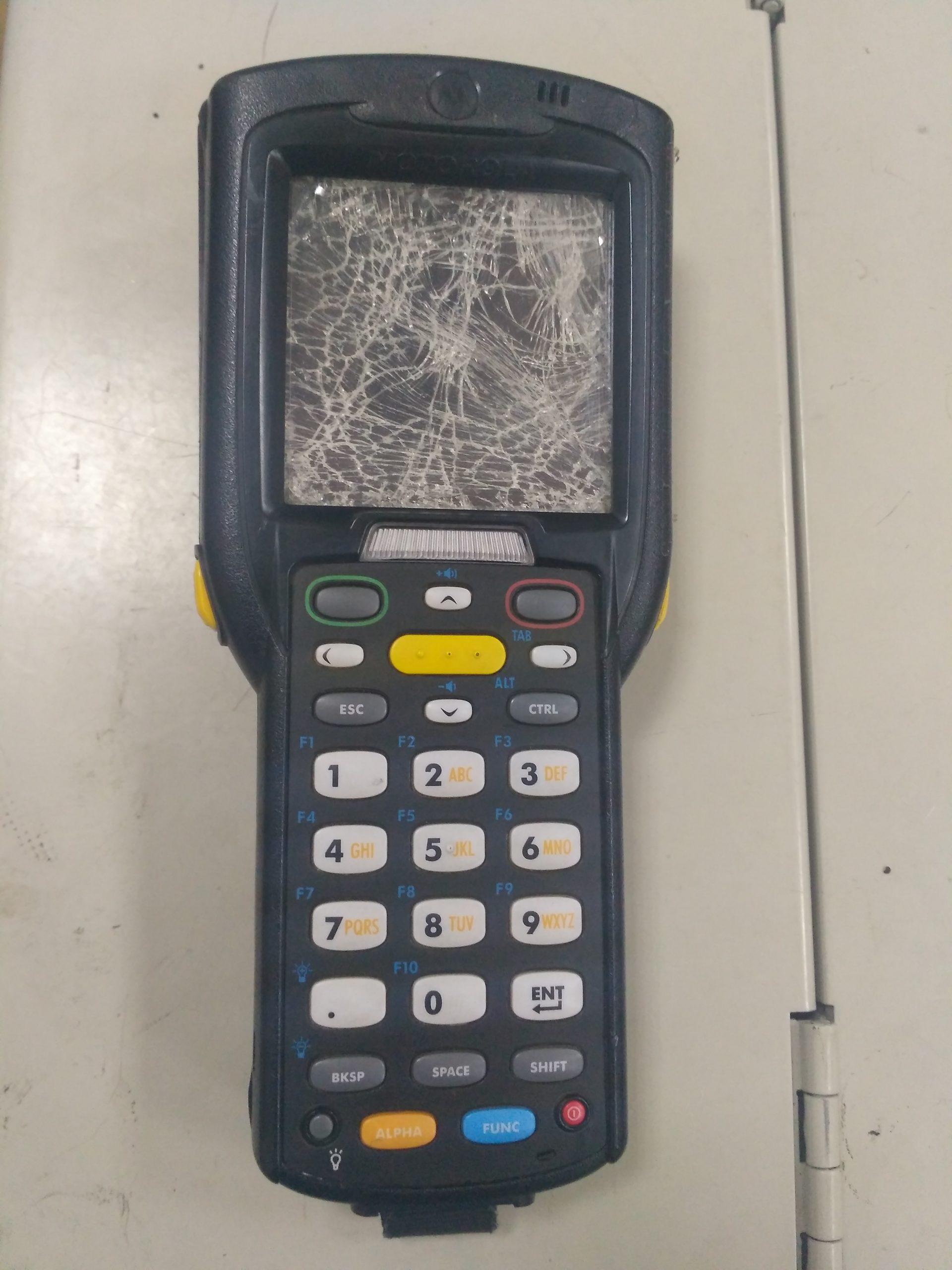Разбит экран на ТСД. Все ли так однозначно?